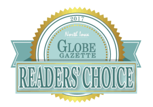 2017 Globe Gazette Reader's Choice Award Winner